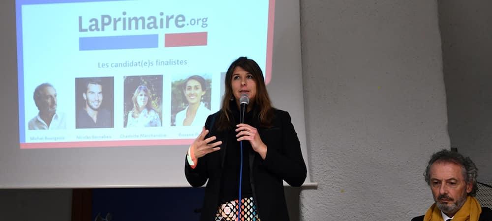 Présidentielle 2017: qui est Charlotte Marchandise la candidate de LaPrimaire.org ?