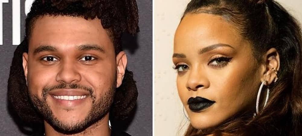The Weeknd Rihanna