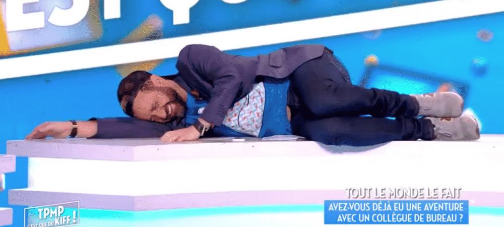 TPMP: Gilles Verdez moqué pour son odeur rend Cyril Hanouna hilare