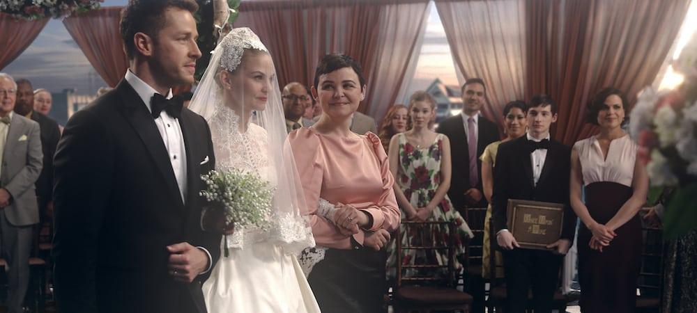 Once Upon a Time saison 6: Emma s'affiche en robe de mariée dans l'épisode 20