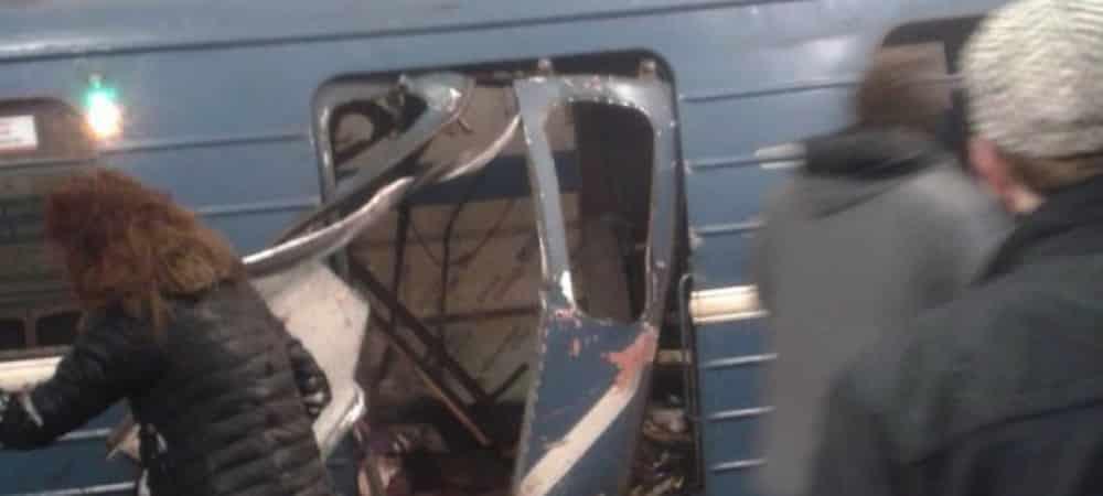 Russie: une explosion a eu lieu dans le métro de Saint-Pétersbourg