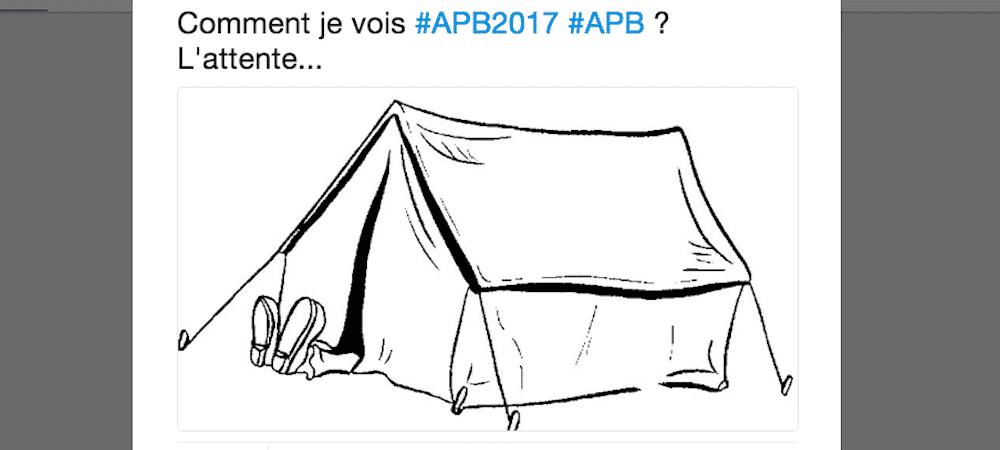 APB: les premières réactions sur Twitter pour la seconde admission