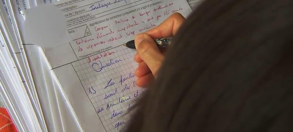 Bac 2017: comment sont corrigées les copies de l'examen ?