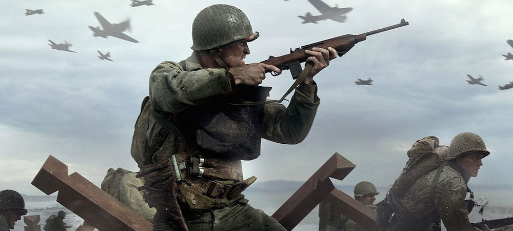 Call of Duty WWII: Sledgehammer révèle le trailer de la beta sur PS4