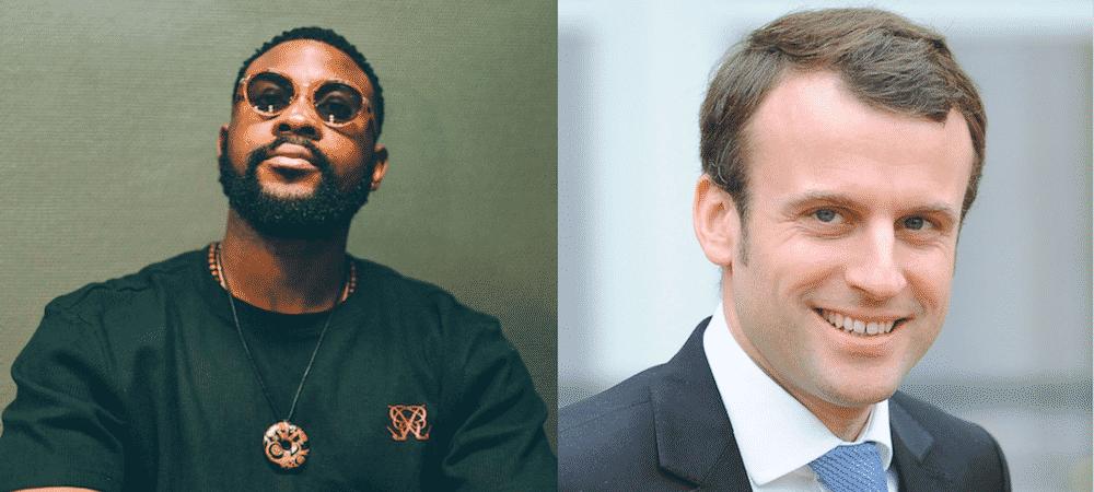Emmanuel Macron en supporter de l'OM: Damso le clashe !