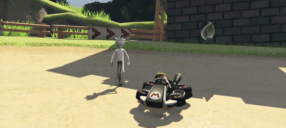 GTA 4: découvrez le premier mod qui mélange Mario Kart et Zelda !