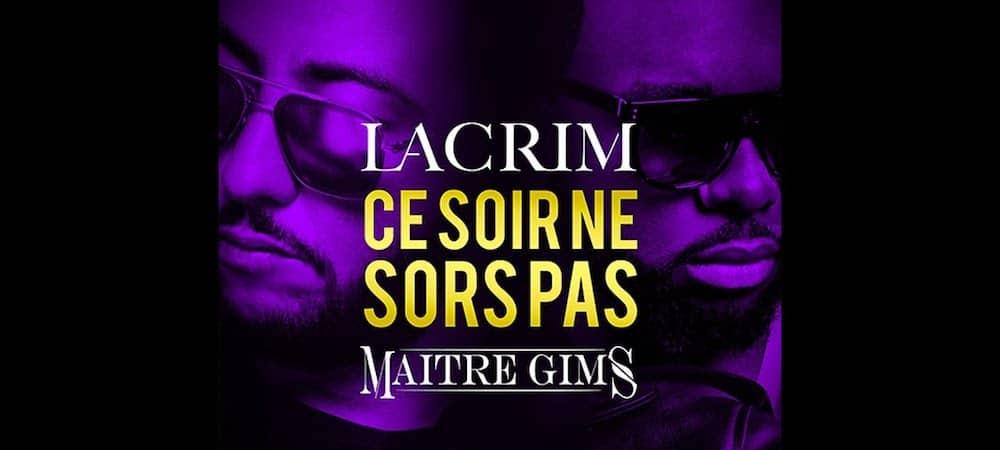 """Lacrim et Maitre Gims certifiés single d'or avec """"Ce soir ne sors pas"""" !"""