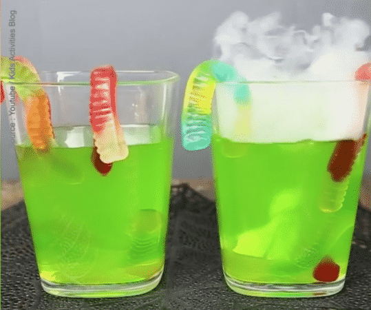 Cocktail serpents en bonbon