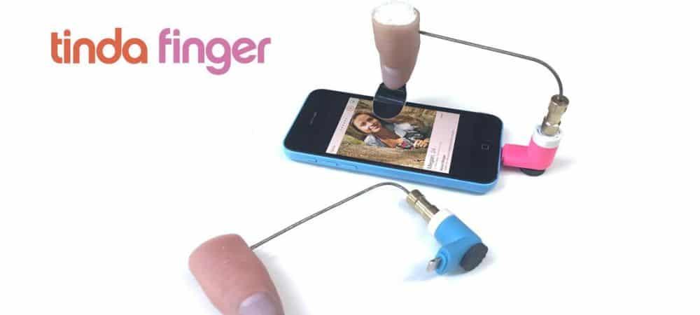 Tinder découvrez le Tinda Finger pour swipper 6 000 photos à l'heure grande