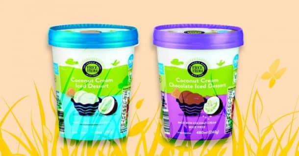 Aldi propose désormais des crèmes glacées véganes, en 2 parfums