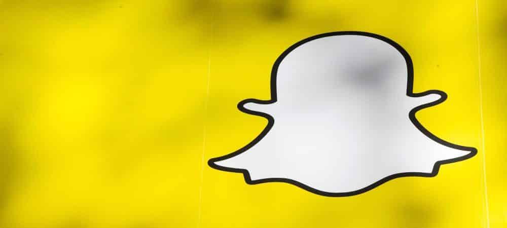 Snapchat les stickers changent de place dans l'application grande