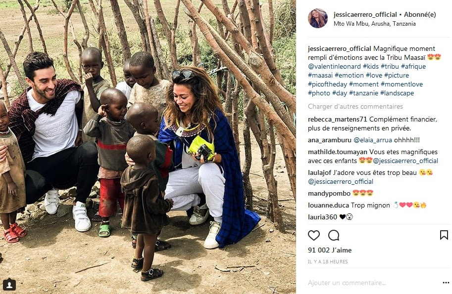 Les Marseillais VS le reste du monde: Jessy et Valentin en Afrique, ils dévoilent des photos de leur séjour