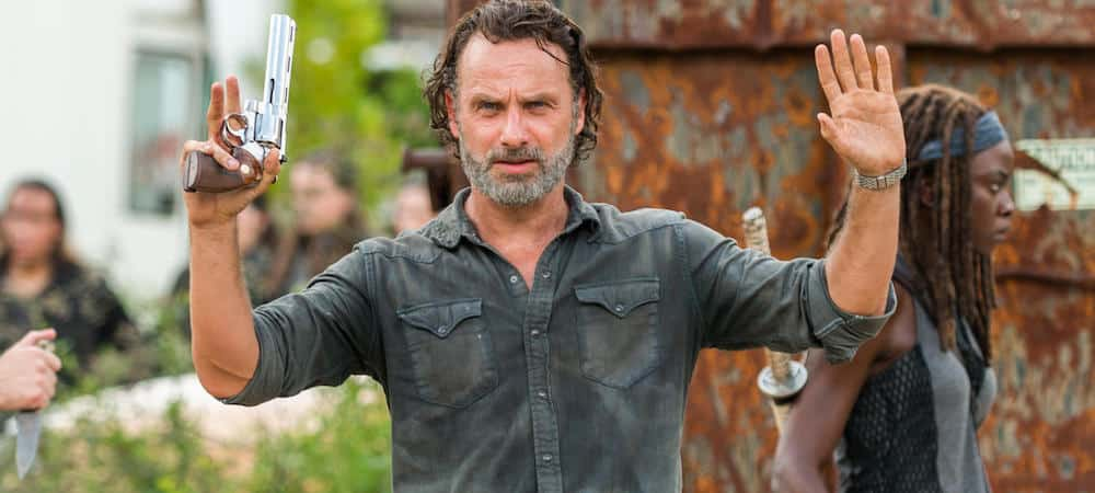 The Walking Dead saison 8: Rick était prêt à se battre nu contre un zombie !