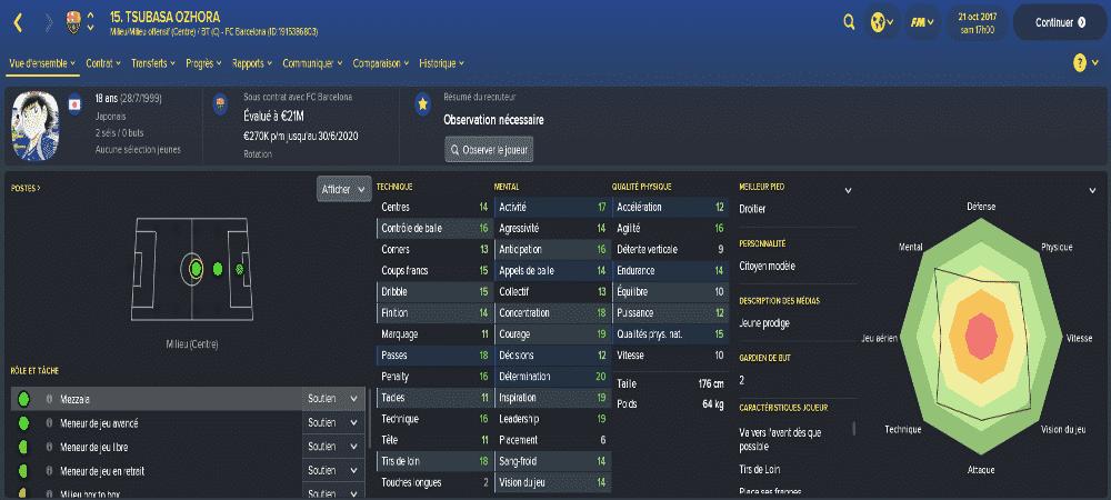 Football Manager 2018: On peut maintenant jouer avec les héros d'Olive et Tom !
