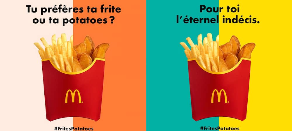 Fast-food: McDonald's va lancer le corner Frites-Potatoes !