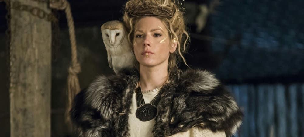 Vikings saison 6: Katheryn Winnick fête la fin du tournage de son épisode !
