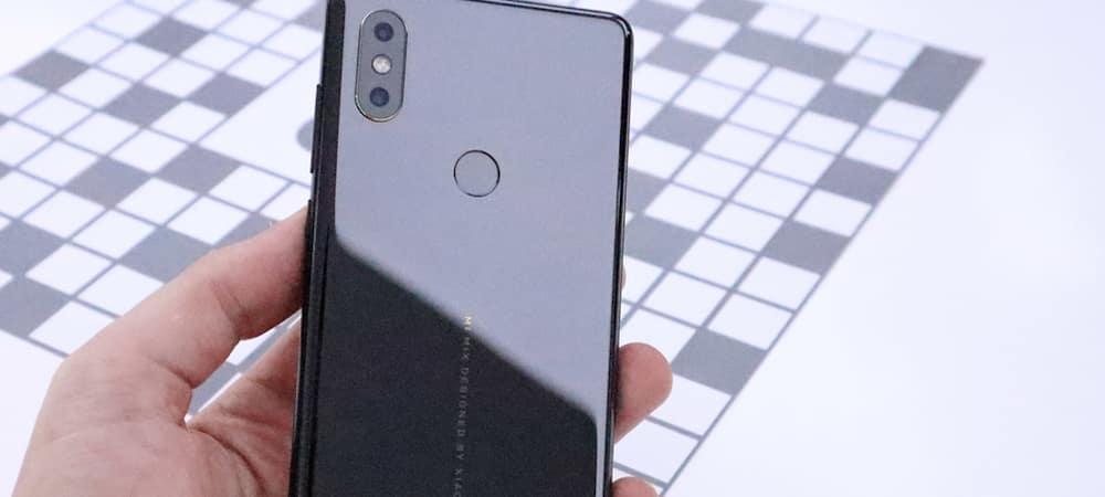 Xiaomi présente le nouveau concurrent de l' iPhone X moitié moins cher !