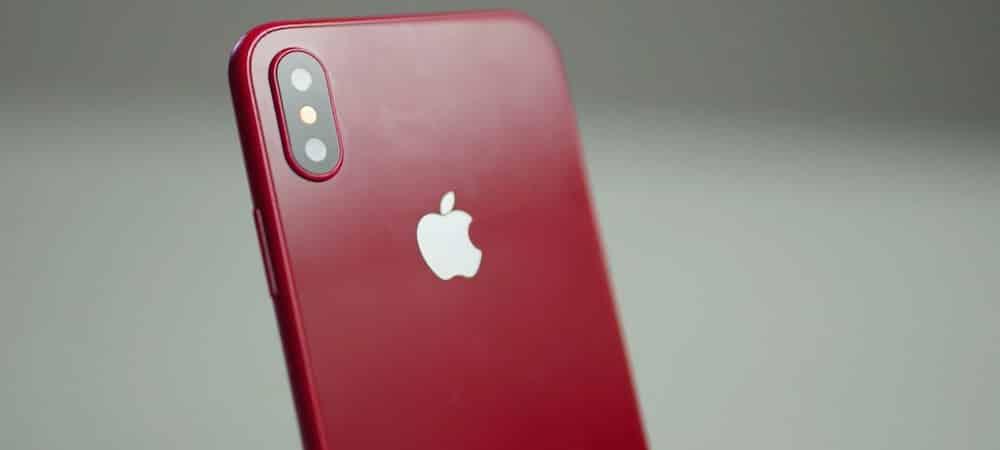 iPhone X Red: le futur smartphone d'Apple prévu pour la fin d'année ?