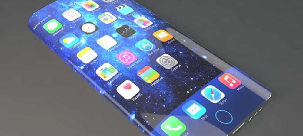 iPhone X: la fin des bords et des encoches pour le futur smartphone de 2019 ?