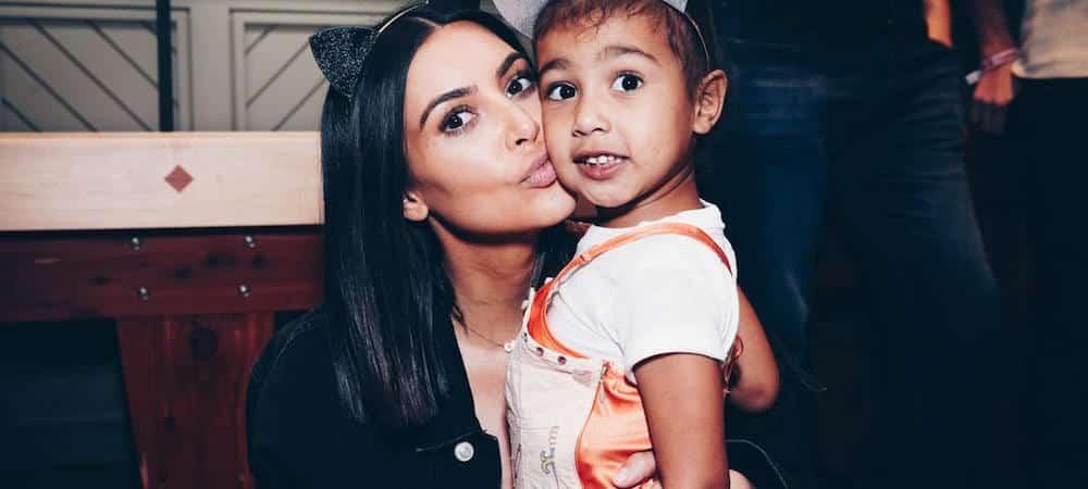 Kim Kardashian confie que sa fille, North a le même caractère que son père !