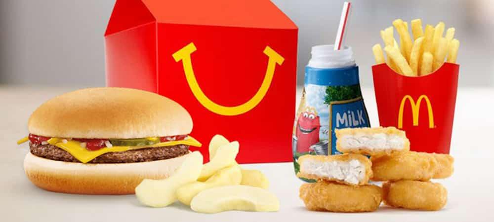 McDonald's: Le fastfood propose des Happy Meals plus sains !