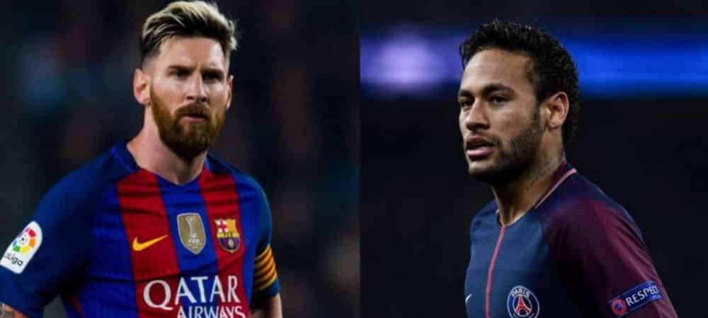 Neymar et Messi A chaque but 10 000 repas servis aux enfants d'Amérique du sud grande