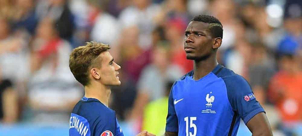 Coupe du Monde 2018 Paul Pogba ridiculise Antoine Griezmann qui fait une sieste grande