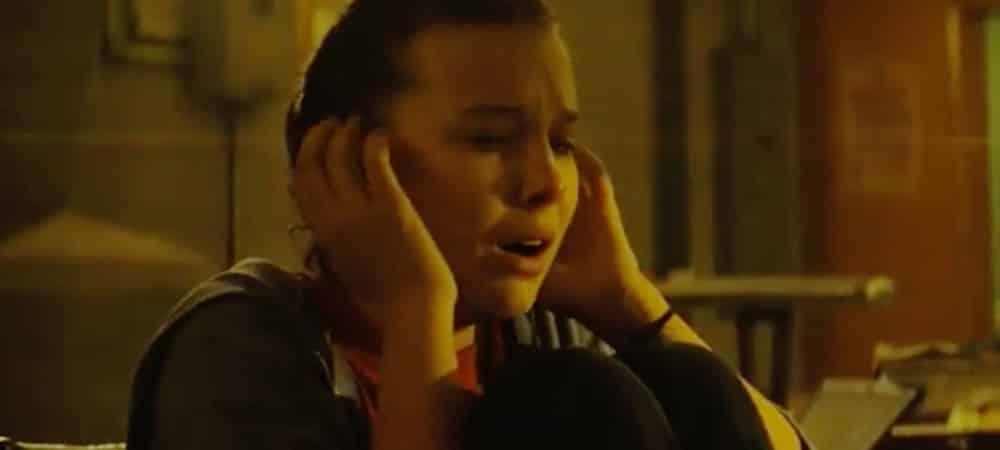 Godzilla King of the Monsters Millie Bobby Brown de Stranger Things morte de peur dans le premier trailer grande