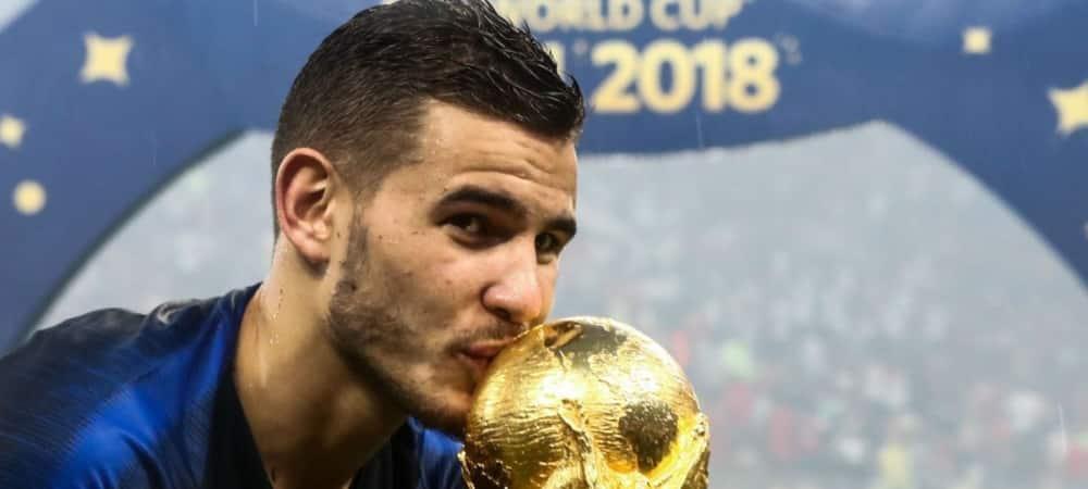 Lucas Hernandez Le champion du Monde bientôt papa d'un petit Martin grande