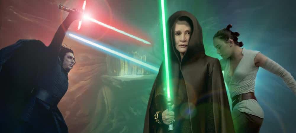Star Wars 9: Luke Skywalker (Mark Hamill) et Leia Organa (Carrie Fisher) seront dans le film !