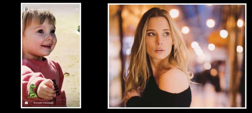 Ilona Smet: La petite fille de Johnny Hallyday partage une photo d'elle enfant sur Instagram