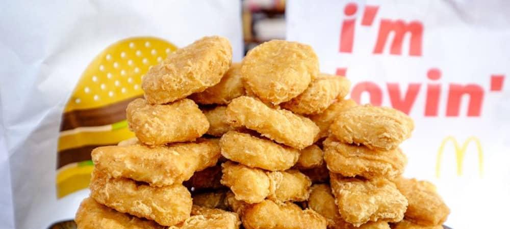 McDonald's: Le fastfood fait des folies et propose la box de 48 nuggets !