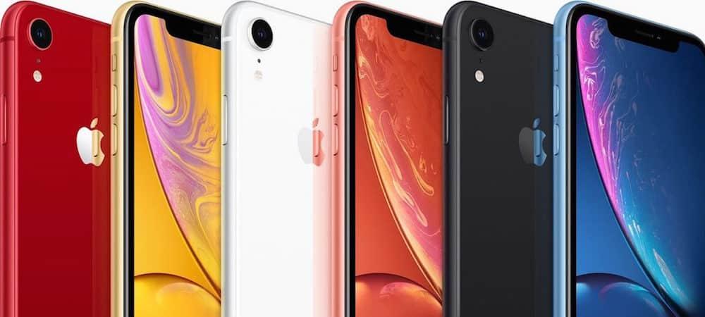 Apple: découvrez les nouveaux Iphone Xs, XS Match, Xr et Apple Watch !