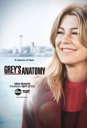 Grey's Anatomy saison 15: Meredith se dévoile sur le poster de la nouvelle saison !