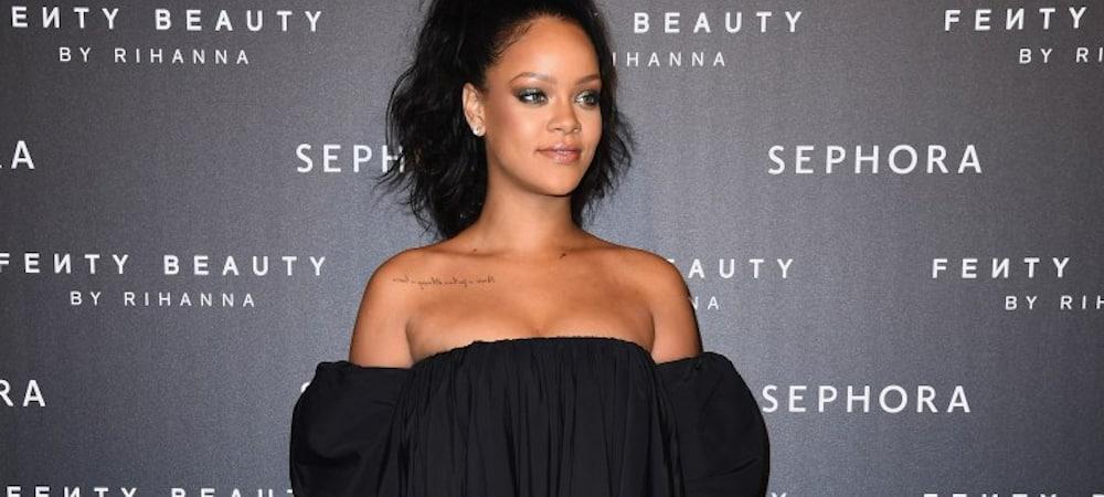 Instagram: Rihanna fait la promotion de son nouveau soutien-gorge les fesses à l'air !