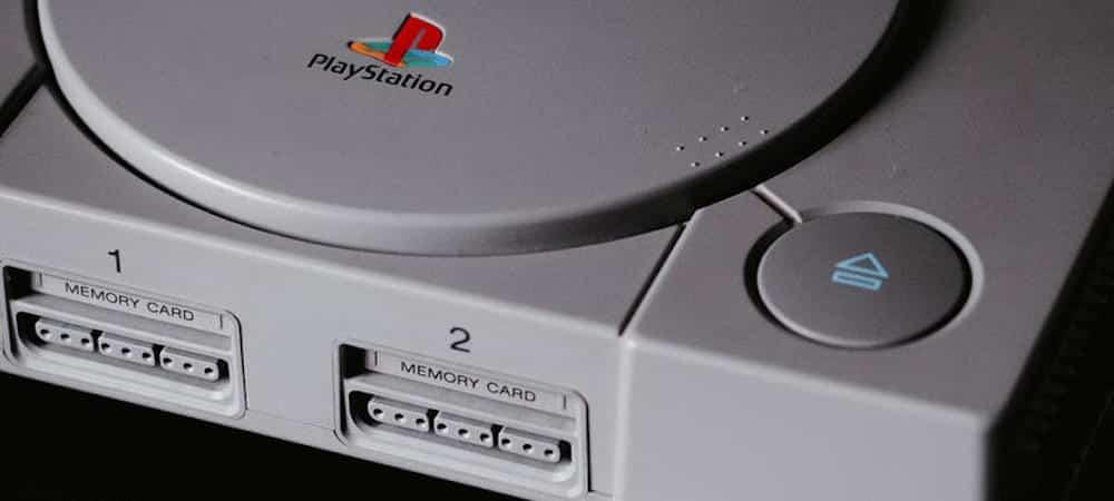 Jeux vidéo: Sony ressuscite la première PlayStation en version miniature !