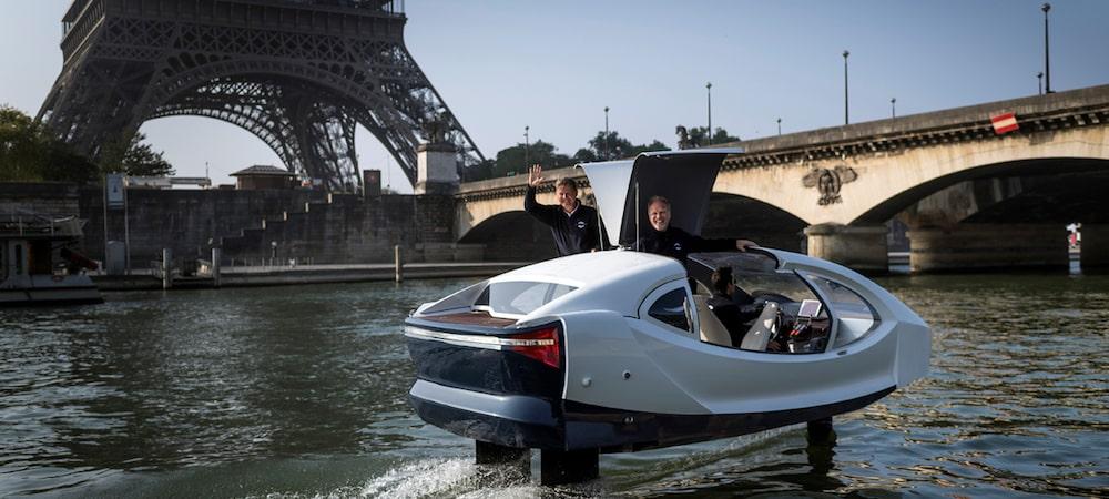 Paris: Des taxis-volants sur la Seine très prochainement !