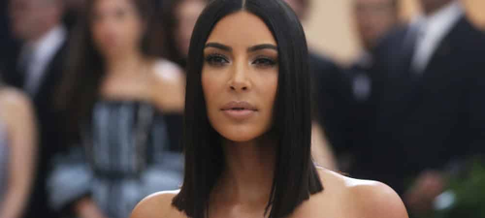 Instagram: Kim Kardashian très hot avec son robe rose bonbon !