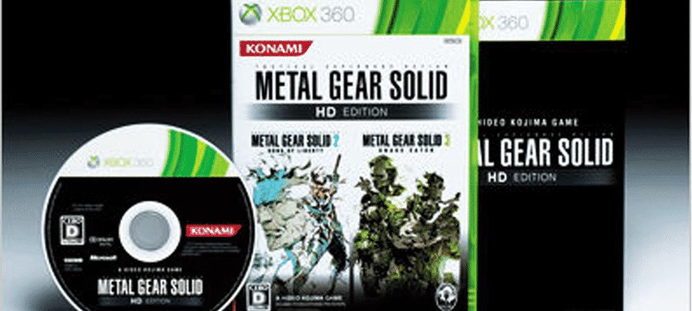 Xbox One : Metal Gear Solid 2 et 3 disponibles en rétrocompatibilité