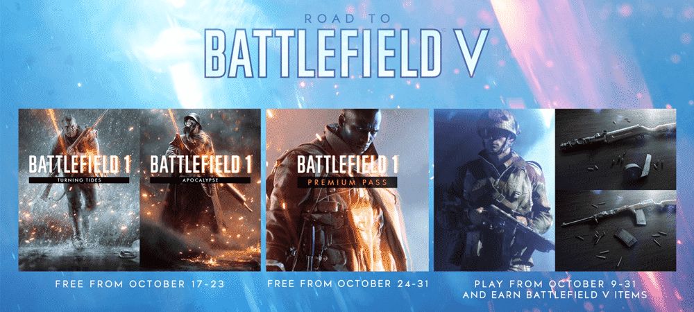 Battlefield 5: obtenez deux DLC et le Season Pass de Battlefield 1 gratuitement !