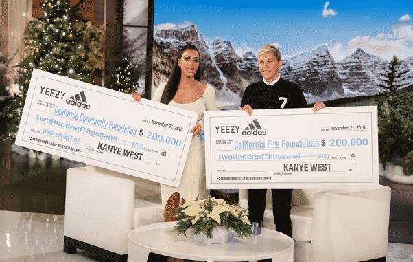 Kim Kardashian et Kanye West font un don de 500,000 dollars aux pompiers !