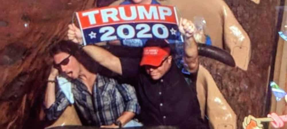Donald Trump: un de ces fans se fait virer de Disney World à vie !