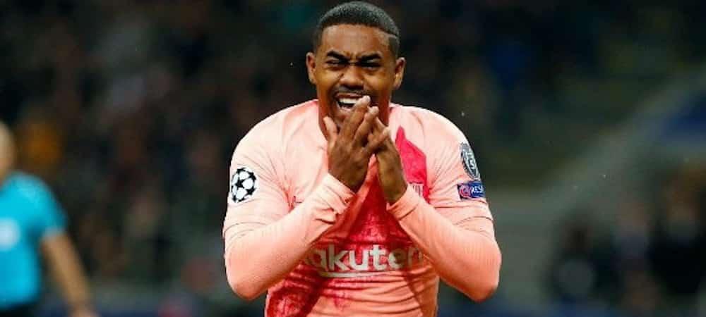 FC Barcelone: Malcom, ému aux larmes après son premier but !
