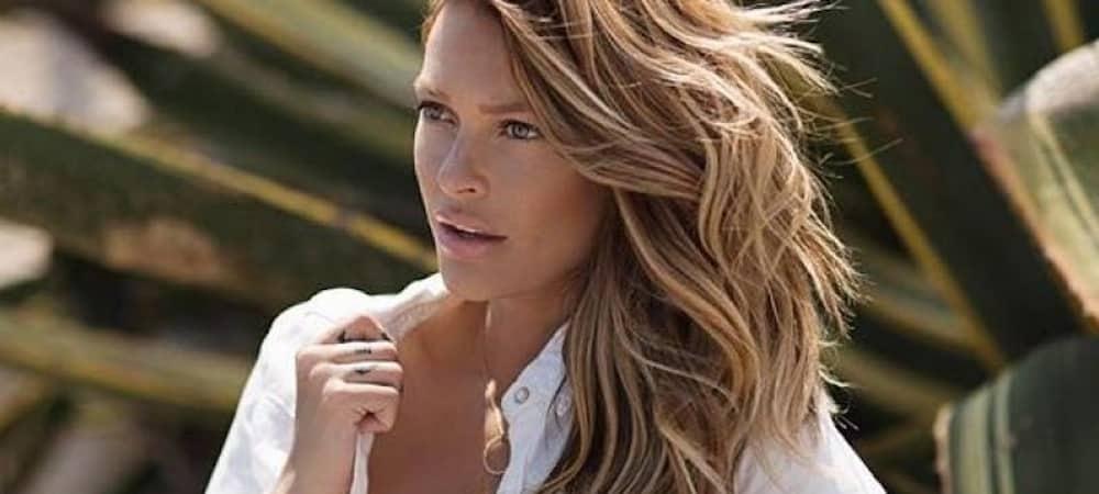 Instagram: Caroline Receveur fan du motif léopard !