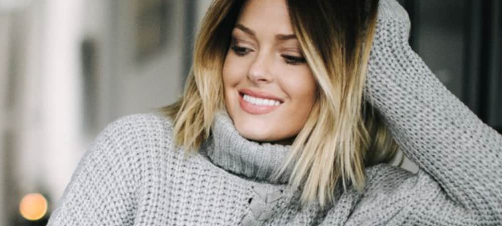 Instagram: Caroline Receveur poste son 1er selfie depuis un mois et demi !