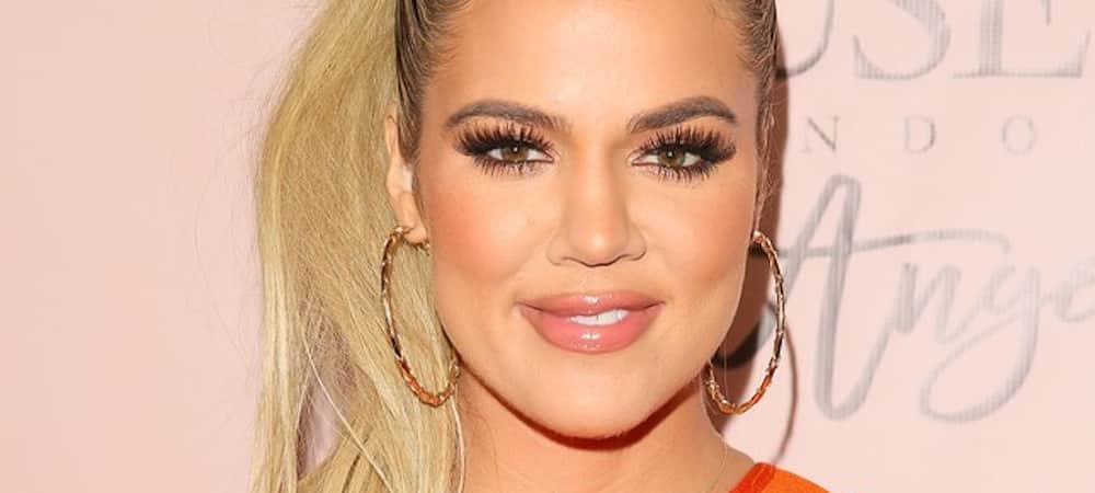 Instagram: Khloe Kardashian prend extrêmement soin de ses dents !