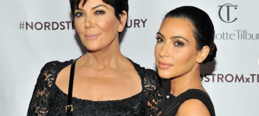 """Instagram: Kim Kardashian fière """"d'avoir la meilleure maman du monde"""" !"""