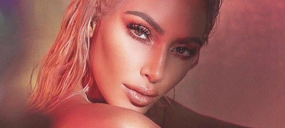 Instagram: Kim Kardashian partage une photo d'elle bébé !