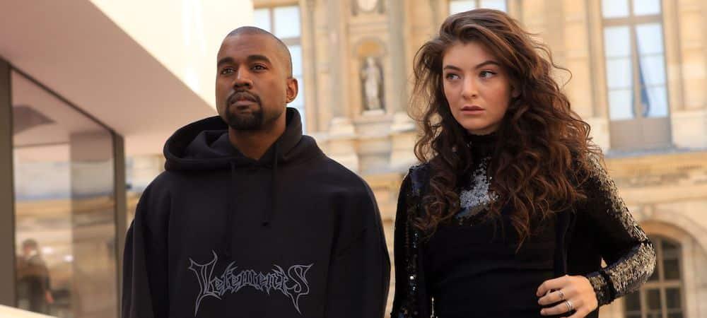Kanye West: La chanteuse Lorde l'accuse de l'avoir volé !