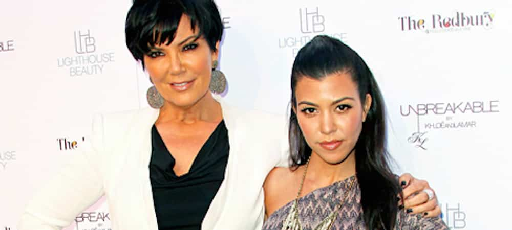 Kourtney Kardashian partage un moment de complicité avec Kris Jenner sur un yacht !